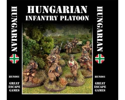 Iron Cross: Hungarian Infantry Platoon