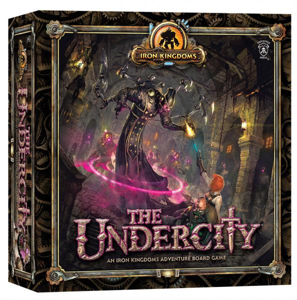 Iron Kingdoms Adventure Board Game: The Undercity [Store Demo- Damaged]
