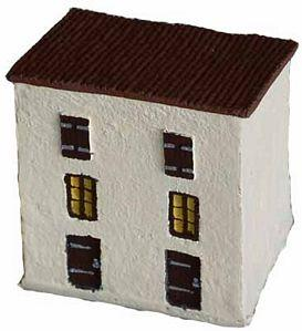 JR Miniatures 15mm Italian: 2 Story Townhouse Slant Roof