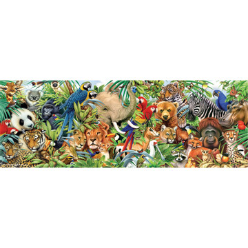Perre Group Puzzles: Jungle Panorama