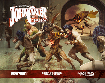John Carter of Mars: Jeddak of Jeddaks Era Rulebook