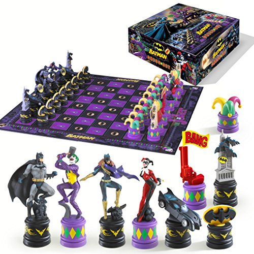 Joker vs Batman Chess Set