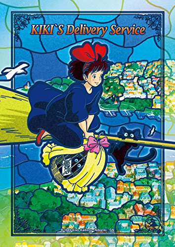 Kikis Delivery Service: Flying Kiki (Artcrystal Puzzle)
