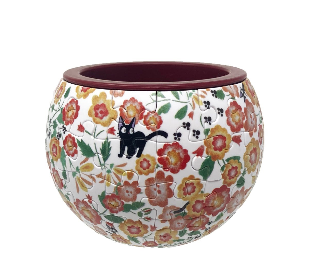 Kikis Delivery Service: Jiji Flower Garden Puzzle Bowl