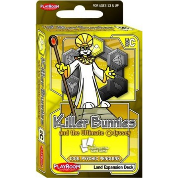 Killer Bunnies And The Ultimate Odyssey: Burn Baby Burn: Expansion: Land Deck C (SALE)