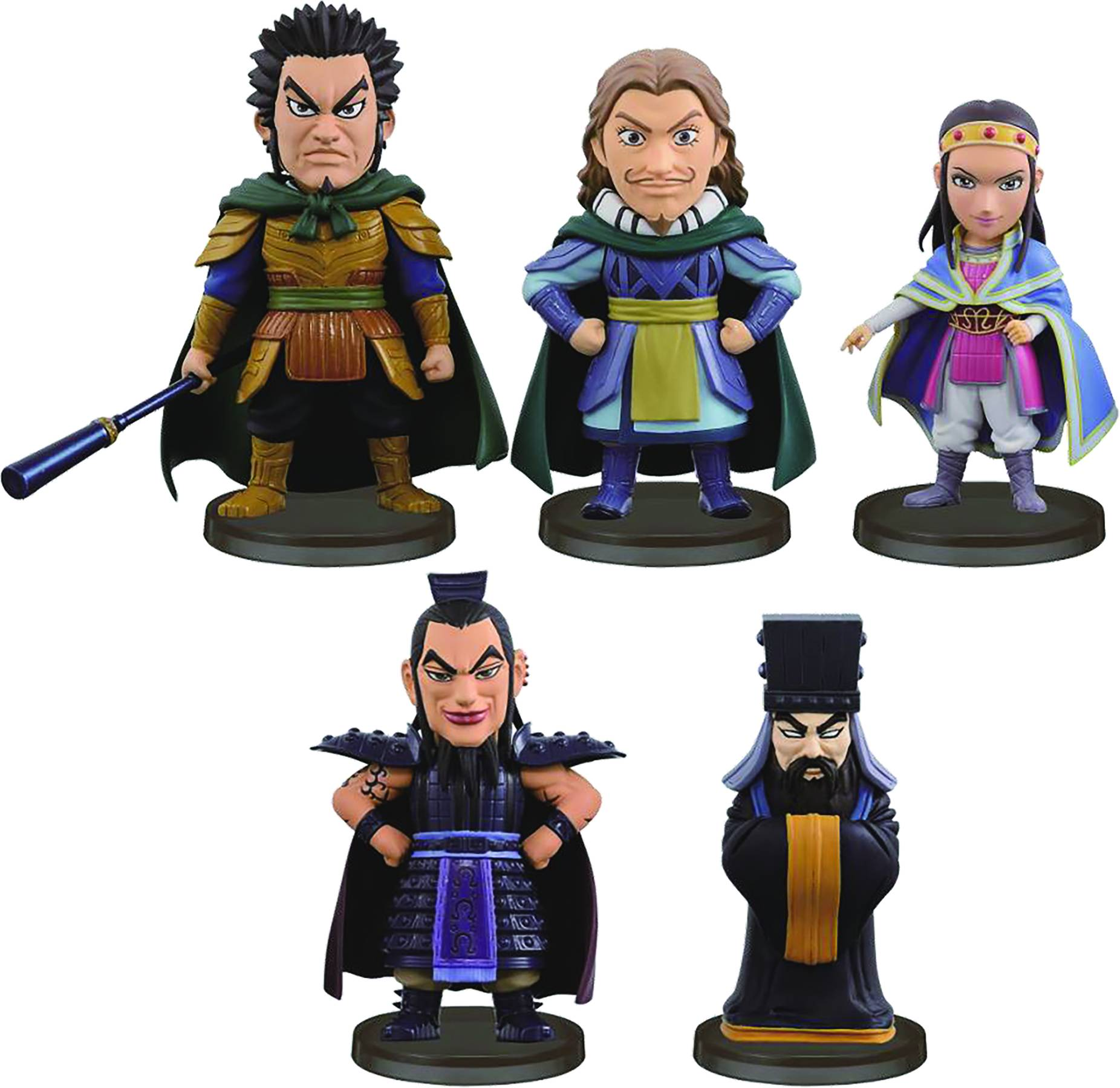 Kingdom- World Collectible Figure Vol.6: Ou Ki