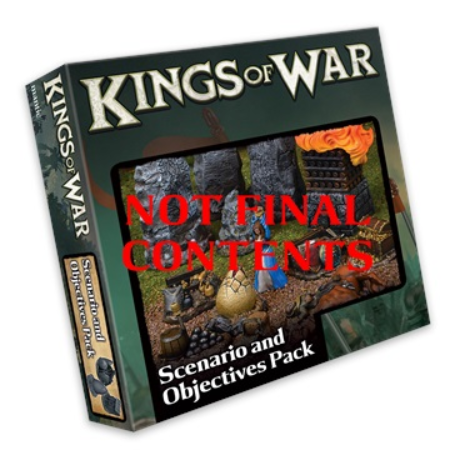 Kings of War: 3rd Edition Scenario and Objective Set