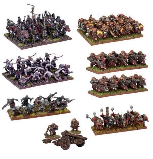 Kings of War: Two Player Battle Set