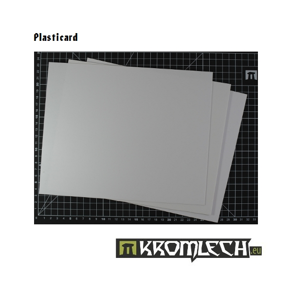 Kromlech Accessories: Plasticard 0.25mm (3)