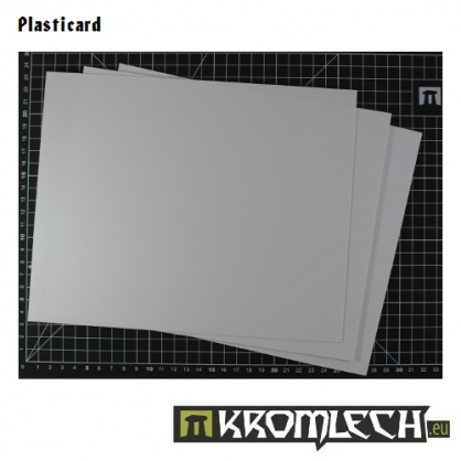 Kromlech Accessories: Plasticard 0.75mm (2)