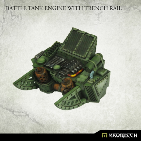Kromlech Conversion Bitz: Battle Tank Engine with Trench Rail