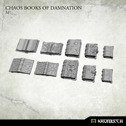 Kromlech Conversion Bitz: Chaos Books of Damnation (10)