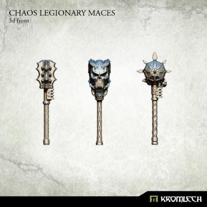 Kromlech Conversion Bitz: Chaos Legionary Maces (3)