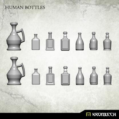 Kromlech Conversion Bitz: Human Bottles