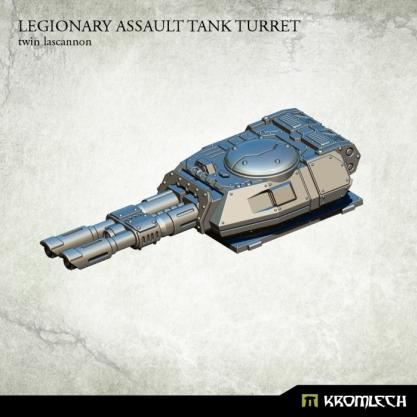 Kromlech Conversion Bitz: Legionary Assault Tank Turret - Twin Lascannon