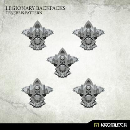 Kromlech Conversion Bitz: Legionary Backpacks - Tenebris Pattern