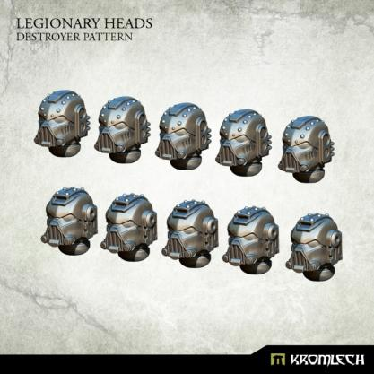 Kromlech Conversion Bitz: Legionary Heads - Destroyer Pattern (10)