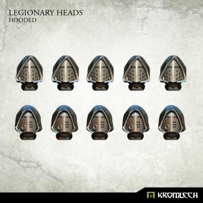 Kromlech Conversion Bitz: Legionary Heads - Hooded (10)