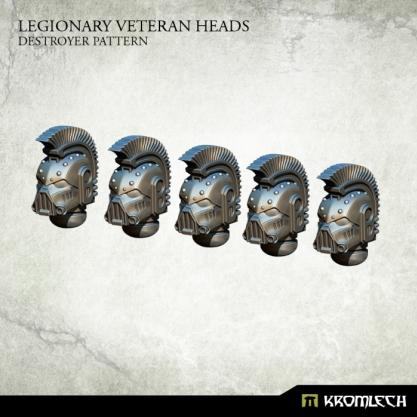 Kromlech Conversion Bitz: Legionary Veteran Heads - Destroyer Pattern (5)