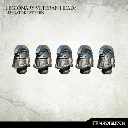 Kromlech Conversion Bitz: Legionary Veteran Heads - Liberator Pattern (5)