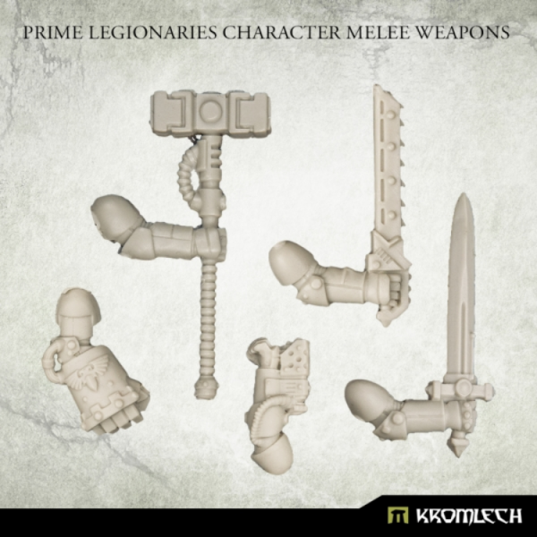 Kromlech Conversion Bitz: Prime Legionaries Character Melee Weapons