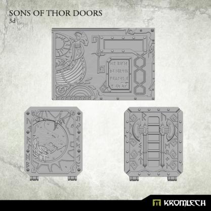 Kromlech Conversion Bitz: Sons of Thor Doors