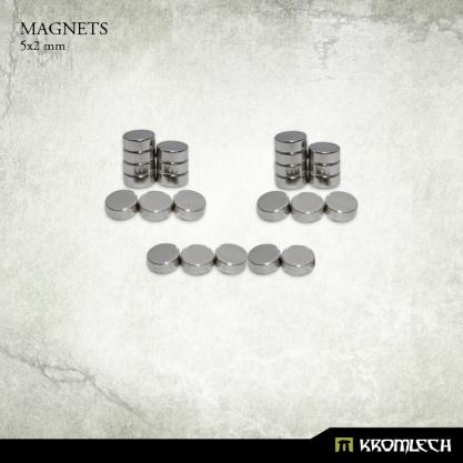 Kromlech Neodymium Disc Magnets: 5x2mm (25)