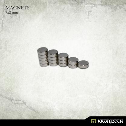 Kromlech Neodymium Disc Magnets: 7x2mm (15)