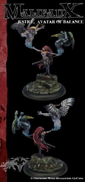 Malifaux: Guild: Justice, Avatar of Balance [SALE]