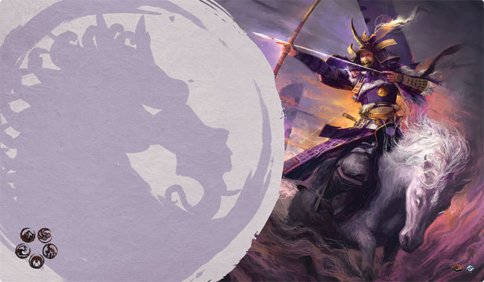 Legend of the Five Rings The Card Game: MISTRESS OF THE FIVE WINDS PLAYMAT