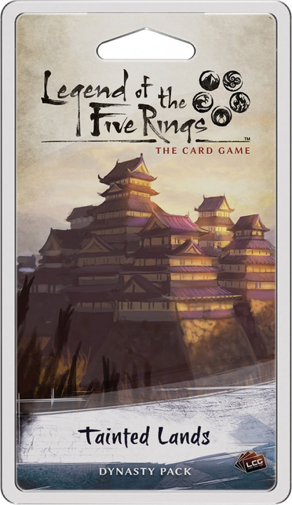Legend of the Five Rings The Card Game: Tainted Lands Dynasty Pack
