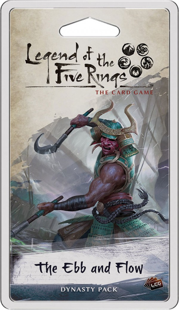 Legend of the Five Rings The Card Game: The Ebb & Flow Dynasty Pack
