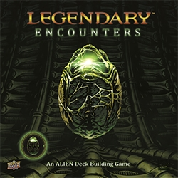 Legendary Encounters: Alien Deckbuilding Game [DAMAGED]