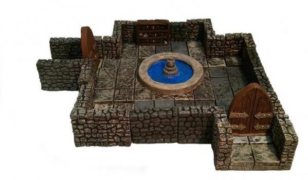 Legendary Realms Terrain: Wizards Scrying Chamber