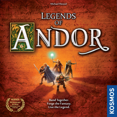 Legends Of Andor [Damaged]
