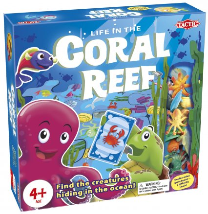 Life in the Coral Reef [Damaged]