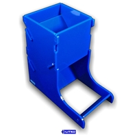 Litko: Acrylic Dice Tower: Opaque Blue