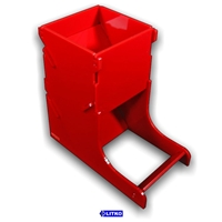 Litko: Acrylic Dice Tower: Opaque Red
