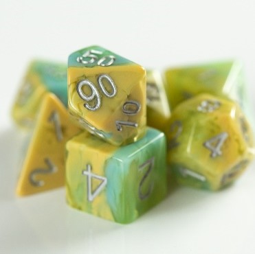 Little Dragon: Dragon Dice (11 Piece Set) - PUPPY THE DRAGON