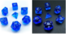 Little Dragon: Mini Dice - Blue Translucent