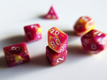 Little Dragon: Mini Dice - Easter Egg Dice
