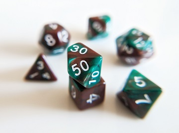 Little Dragon: Mini Dice - Mint Chocolate Chip