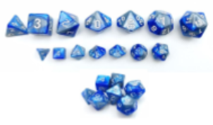 Little Dragon: Mini Dice - Steel Blue