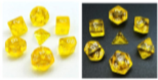 Little Dragon: Mini Dice - Yellow Translucent