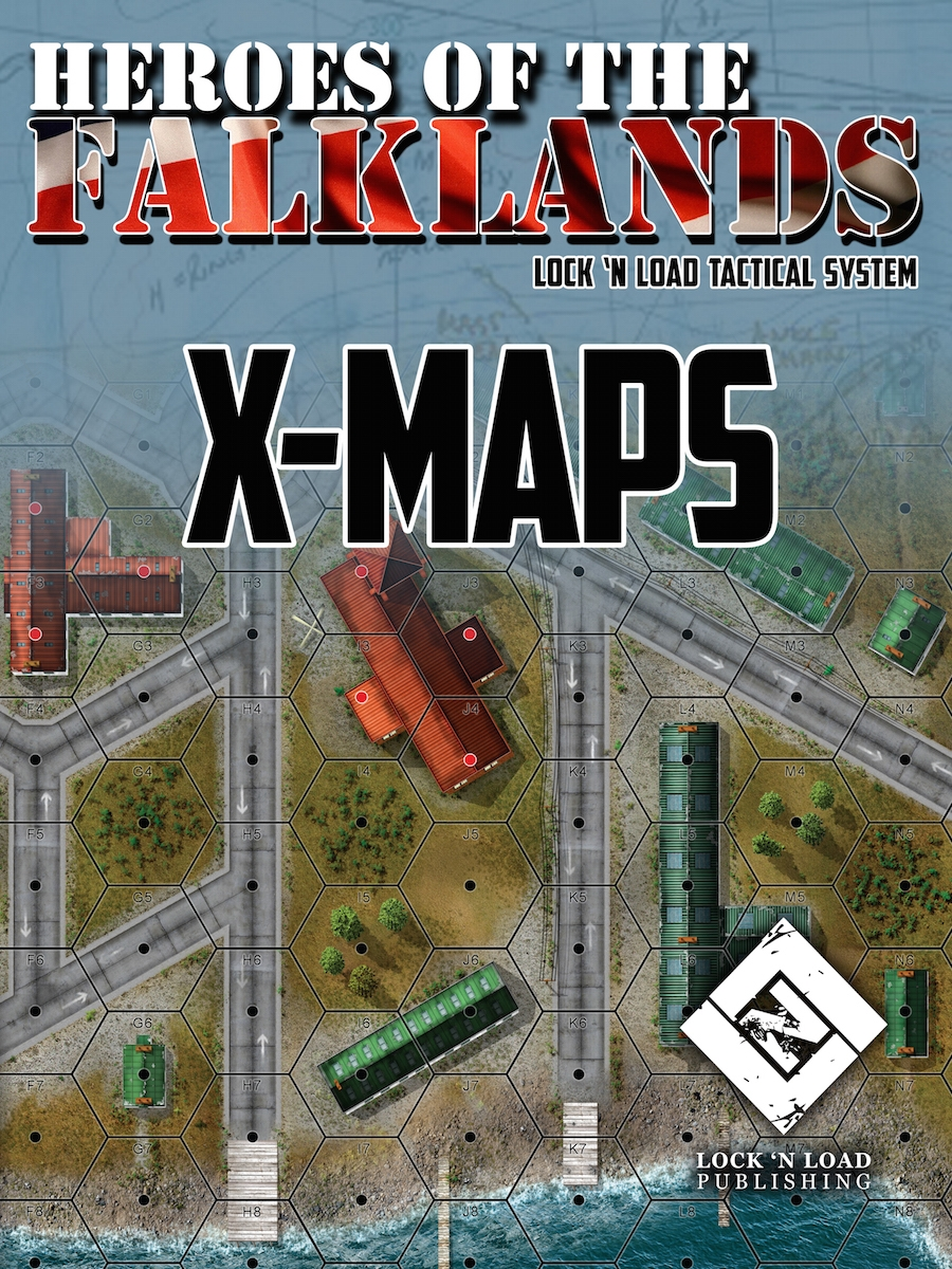 Lock 'n Load Tactical System: HEROES OF THE FALKLANDS- X-Maps