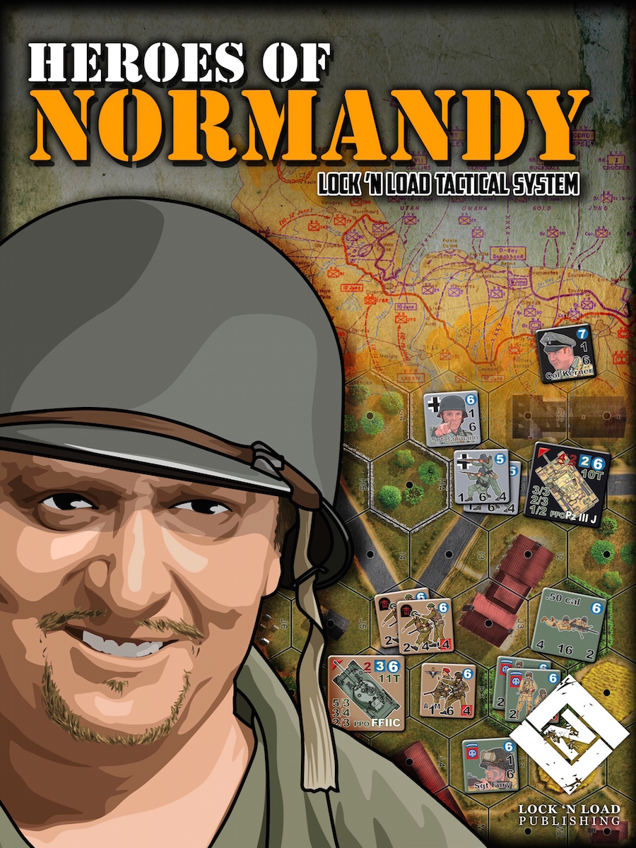Lock 'n Load Tactical System: Heroes of Normandy