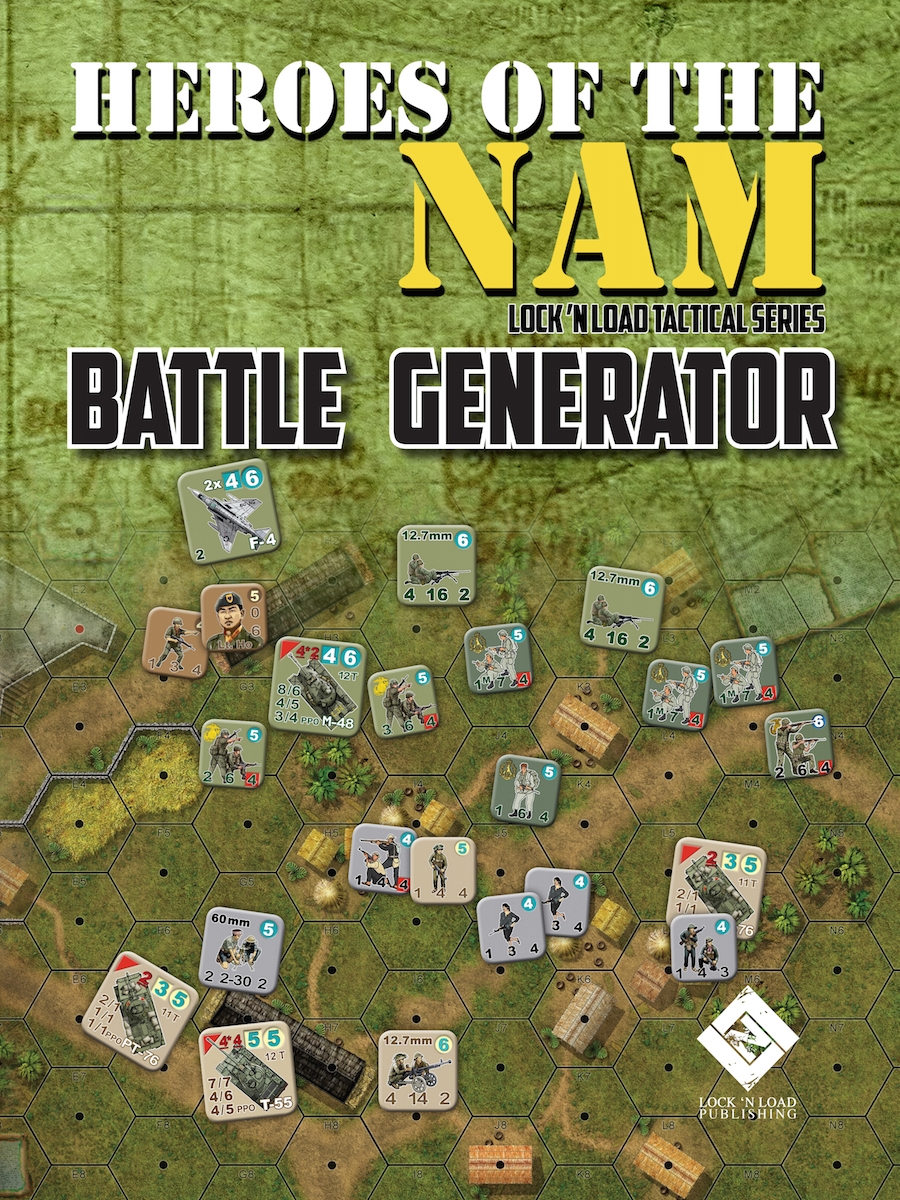 Lock 'n Load Tactical System: Heroes of the Nam- Battle Generator