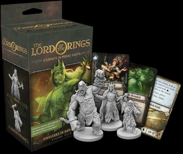 Lord of the Rings- Journeys in Middle-Earth: Dwellers In Darkness Figure Pack