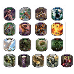 MAGIC THE GATHERING: RELIC TOKENS LINEAGE COLLECTION DISPLAY