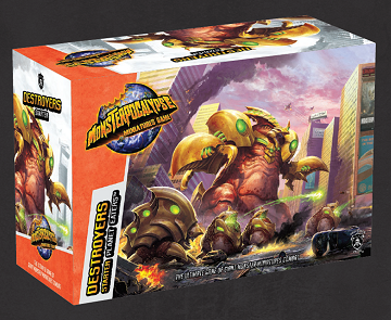 Monsterpocalypse Destroyers: Planet Eaters Starter